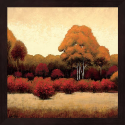 Metaverse Art Autumn Forest I Framed Wall Art