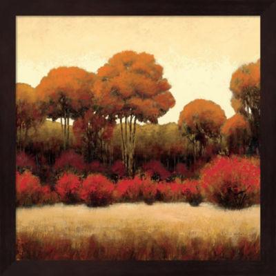 Autumn Forest II Framed Wall Art