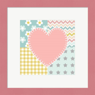 Baby Quilt I Framed Wall Art