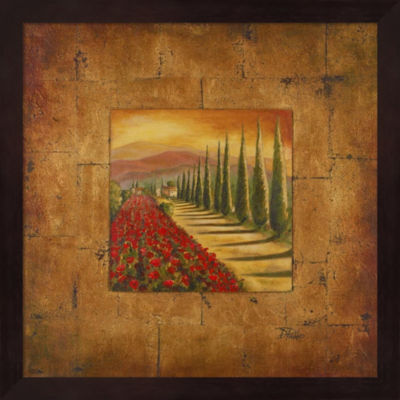 Metaverse Art Bella Toscana I Framed Wall Art