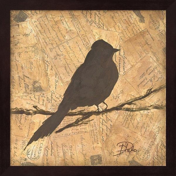 Metaverse Art Bird Silhouette I Framed Wall Art - JCPenney