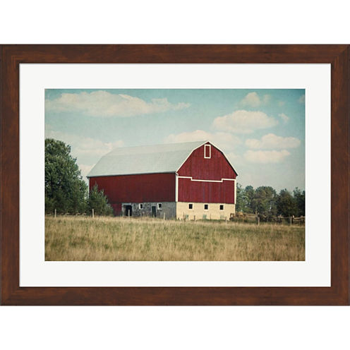 Blissful Country VI Crop Framed Wall Art