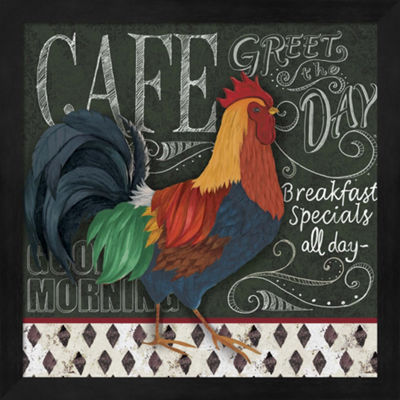 Metaverse Art Breakfast Special Framed Wall Art