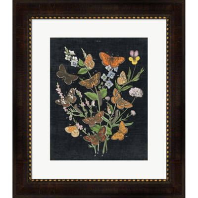 Metaverse Art Butterfly Bouquet On Black I FramedWall Art