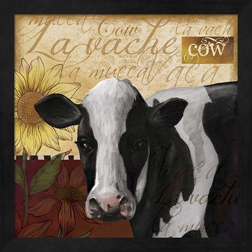 Cow Framed Wall Art