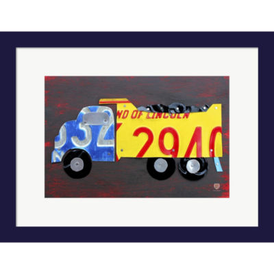 Dump Truck by Design Turnpike Framed Wall Art