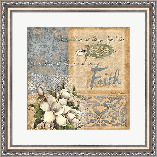 Metaverse Art Faith by Janet Stever Framed Wall Art
