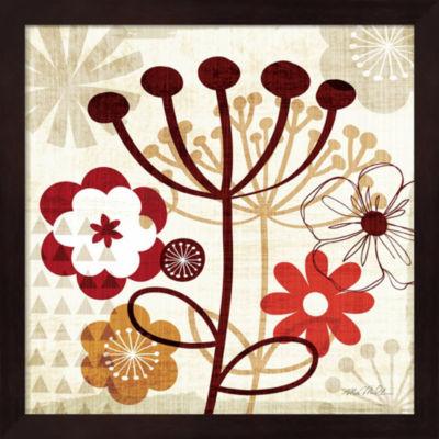 Floral Pop III Framed Wall Art