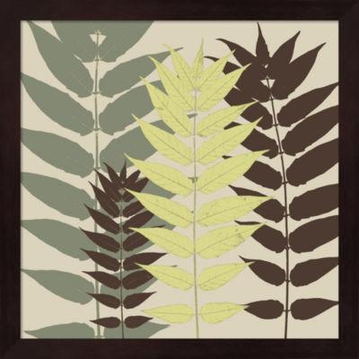 Metaverse Art Garden Botanical Framed Wall Art