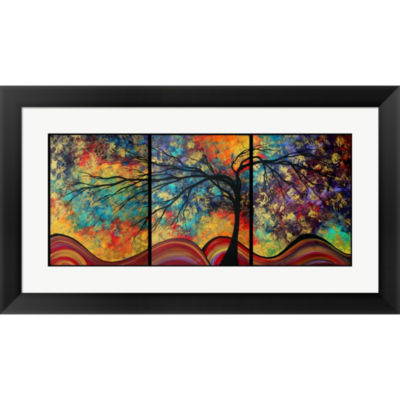 Metaverse Art Go Forth Framed Wall Art