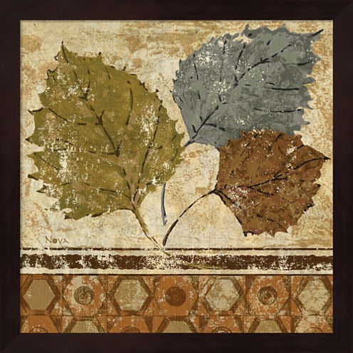 Golden Autumn I Framed Wall Art