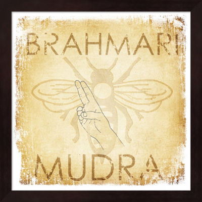Metaverse Art Brahmari Mudra (Humming Bee) FramedWall Art