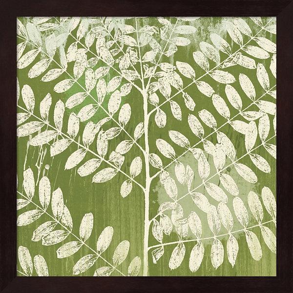 Metaverse Art Jade Foliage Framed Wall Art - JCPenney