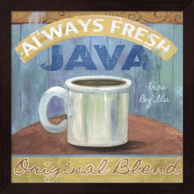 Metaverse Art Java Framed Wall Art