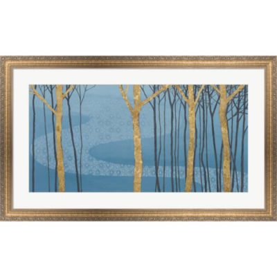 Metaverse Art Katonah Gold Framed Wall Art