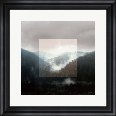 Metaverse Art Framed Landscape I Framed Wall Art