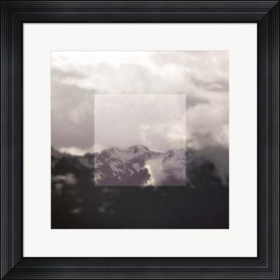 Metaverse Art Framed Landscape IV Framed Wall Art