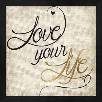 Metaverse Art Love Life II Framed Wall Art