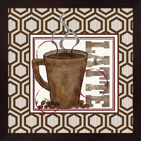 Modern Coffee II Framed Wall Art