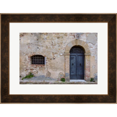 Monticchiello Facade Framed Wall Art