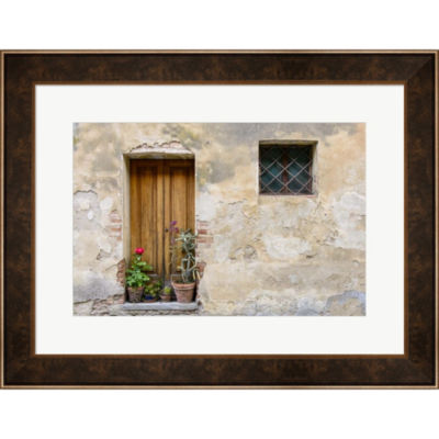 Metaverse Art Montisi Facade Framed Wall Art