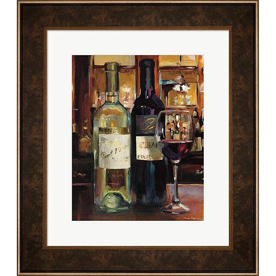 Metaverse Art A Reflection Of Wine II Framed WallArt