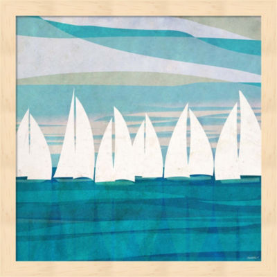 Afternoon Regatta II Framed Wall Art