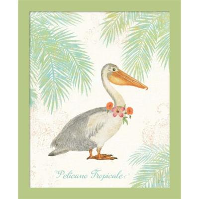Flamingo Tropicale I Framed Wall Art