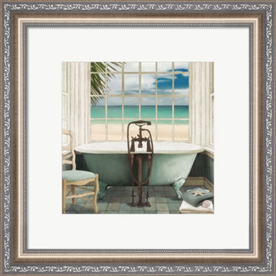 Metaverse Art Oceanview I Framed Wall Art