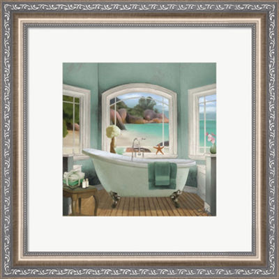 Metaverse Art Oceanview II Framed Wall Art