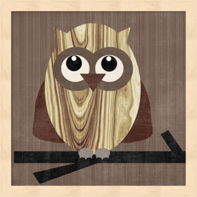 Metaverse Art Owl 2 Framed Wall Art