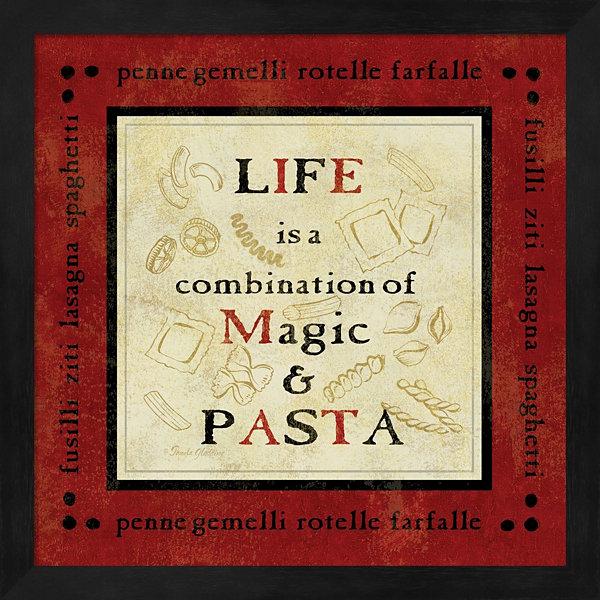 Metaverse Art Pasta Sayings I Framed Wall Art - JCPenney