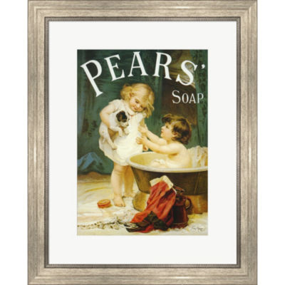 Metaverse Art Pears II Framed Wall Art
