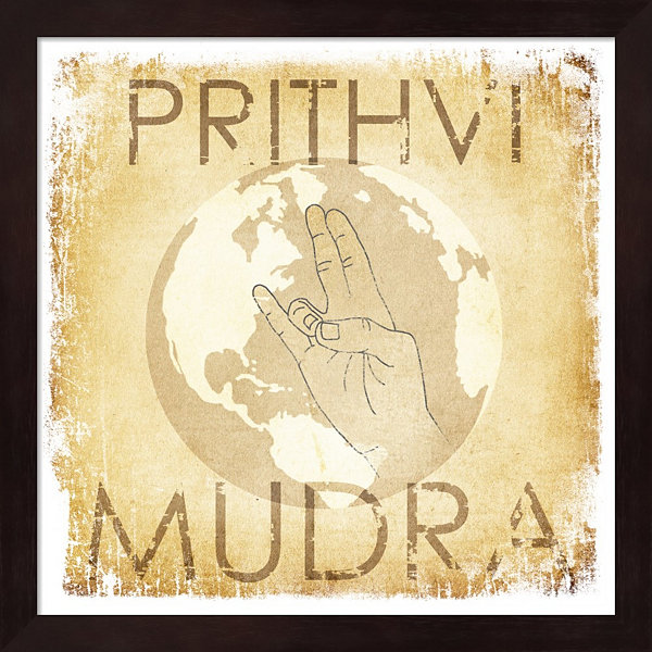 Metaverse Art Prithvi Mudra (The World) Framed Wall Art
