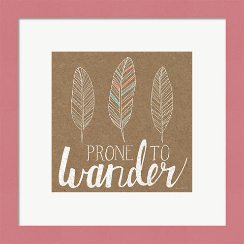 Prone To Wander Framed Wall Art