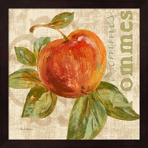 Rustic Fruit I Framed Wall Art