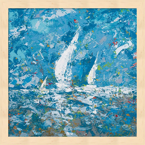 Sailing II Framed Wall Art