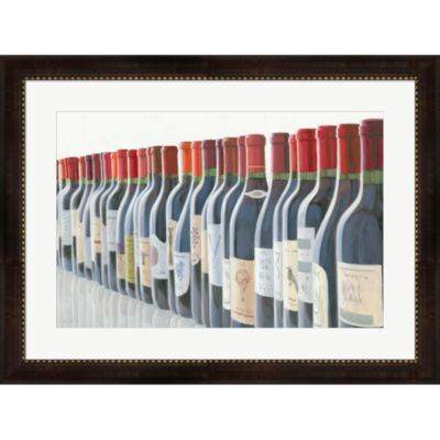 Metaverse Art Splendid Reds Framed Wall Art