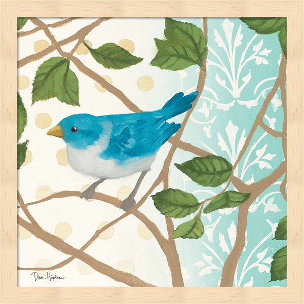Summer Bird II Framed Wall Art