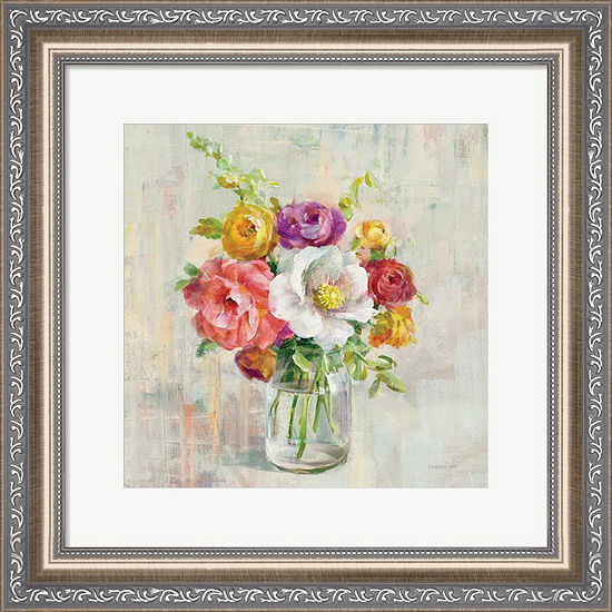 Metaverse Art Summer Treasures I Framed Wall Art
