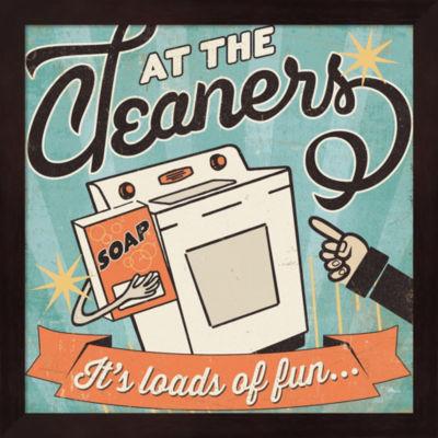 Metaverse Art The Cleaners II Framed Wall Art