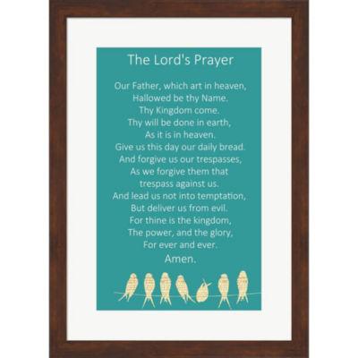 Metaverse Art The Lord'S Prayer Framed Wall Art