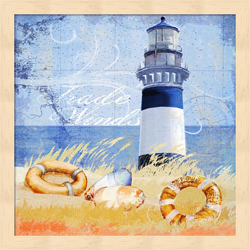 Trade Winds Lighthouse Framed Wall Art