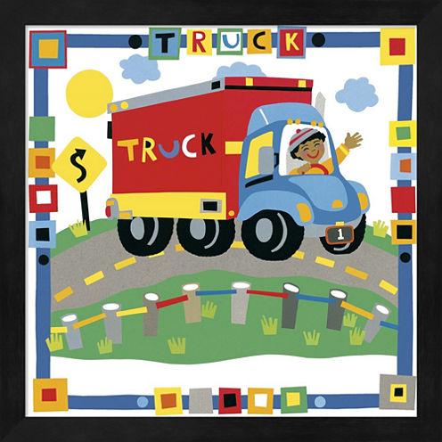 Truck by Cheryl Piperberg Framed Wall Art