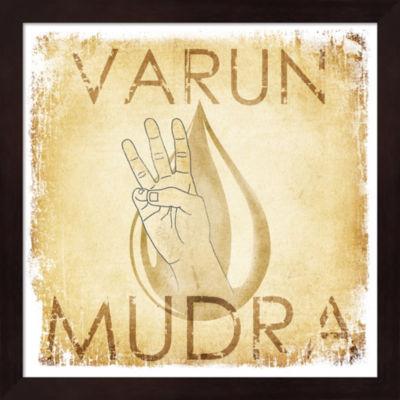 Metaverse Art Varun Mudra (Water) Framed Wall Art