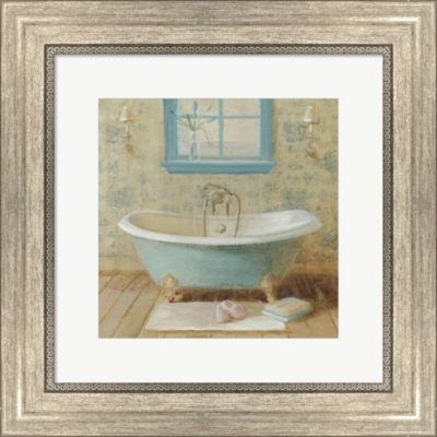 Metaverse Art Victorian Bath I Framed Wall Art