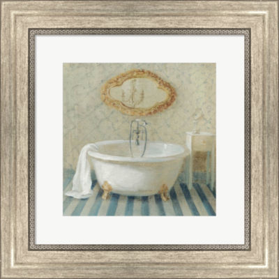Metaverse Art Victorian Bath II Framed Wall Art