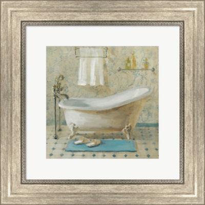Metaverse Art Victorian Bath III Framed Wall Art