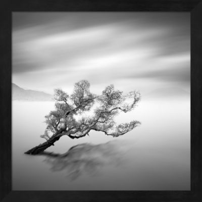 Metaverse Art Water Tree Vi Framed Wall Art