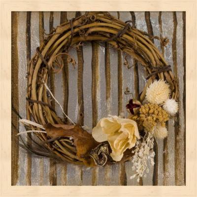 Metaverse Art Wreath I Framed Wall Art